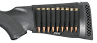 BlackHawk Shotgun Butt Stock Shell Holder Open - 74SH02BK