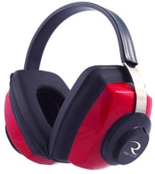 Radians Competitor Earmuff - Red, NRR 26dB - CP0300CS