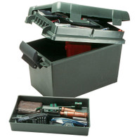 MTM Case-Gard Sportsmen's Plus Utility Dry Box - 15in. x 8.8in. x 9.4in. - Forest Green - SPUD111