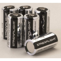 Streamlight Lithium CR 123 Batteries - 6 Pack - 85180