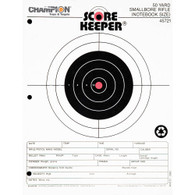 Champion Scorekeeper Targets - Fluorescent Orange - 50 yd. Small Bore Notebook (12 pk) - 45721
