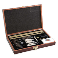 DAC Technologies Gunmaster Deluxe Universal 35 Piece Cleaning Kit in Wooden Box - UGC76W
