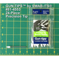 Swab It Gun-tips 24-Piece Precision Tip Firearm Cleaning Value Pack - 814553