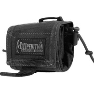 Maxpedition Black Rollypoly MM Folding Dump Pouch