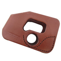 Tagua Kahr PM Series 9mm Brown Ambidextrous Pocket Holster
