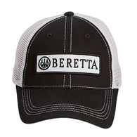 Beretta USA Corp BERETTA PATCH TRUCKER HAT - BLACK - BC062016600953