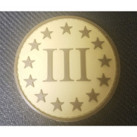 DDT INC RUBBER MORALE PATCH - III PERCENT, TAN - 50158