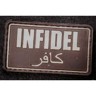 DDT INC RUBBER MORALE PATCH - INFIDEL - 50145
