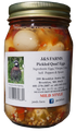 Mild pickled quail eggs