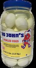 Big John's Pickled White Eggs
