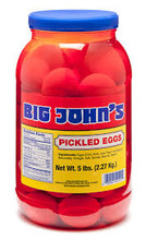 Big John's Pickled Eggs
