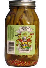Stuart's Pickled Okra - Front