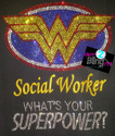 Wonder Woman Social Worker