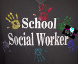 School Social Worker with Hands