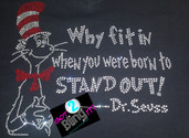 Dr. Seuss - Stand Out