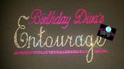 Birthday Diva's Entourage