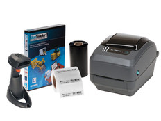 Zebra GX430t Printing Kit with Scanner - Cryo Straw ID. System #SYS-31-11