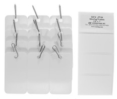 "Cryogenic Tags for Metal Racks - 3.39"" x 2.13""  #CID-01"