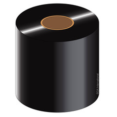 "Thermal Transfer Resin Ribbon - 2.36"" x 1476' #RR60x450C1-1iZ4"