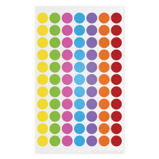 "Cryogenic Color Dots - 0.44"" circles #LT-11X7A(7 colors across)"
