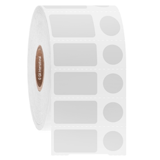 """Cryogenic Direct Thermal Labels - 0.94"""" x 0.5"""" + 0.437""""  #DFP-52"""