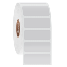 """Cryogenic Direct Thermal Labels - 1.375"""" x 0.5""""  #DFP-6"""