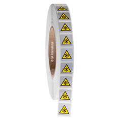 "Low Temperature Warning Symbol Label 0.75"" x 0.75"" #WL-010"