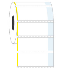 "Cryogenic Cover-Up Label for Frozen Vials - 2"" x 0.875"" + 0.375"" wrap  #AEA-4"