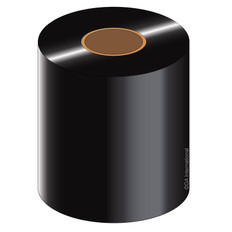 "Thermal Transfer Wax-Resin Ribbon - 2.5"" x 1181' #WR64X360C1-2iD4"