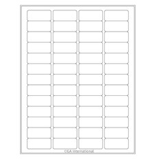 "Cryo Ink-Jet Labels - Sheet Format - 1.77"" x 0.79"" #AJA-8"