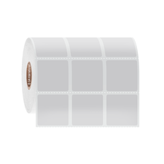 """Cryogenic Direct Thermal Labels - 1.125"""" x 1.25"""" #DFP-257"""