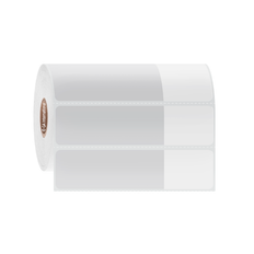"Cryogenic Thermal Transfer Labels for Frozen Vials and Tubes - 2.75"" x 1"" + 1.25"" wrap  #FSA-332"
