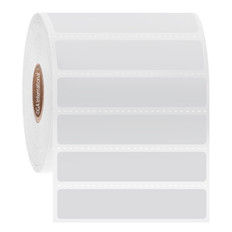 """Cryogenic Direct Thermal Labels - 2.5"""" x 0.5""""  #DFP-32"""
