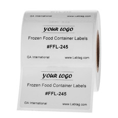 "Frozen Food Container Labels - 2"" x 1.25"" #FFL-245"