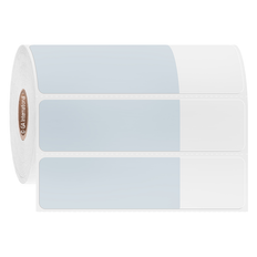 "Cryogenic Cover-Up Label for Frozen Vials - 2.75"" x 1"" + 1.25"" wrap  #AEA-6"