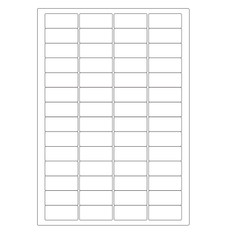 "Autoclave Labels for Laboratory Glassware - 1.77"" x 0.877""   #A4AKA-8"