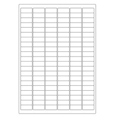 "Autoclave Labels for Laboratory Glass Wear - 1.24""  0.512""  #A4AKA-23"