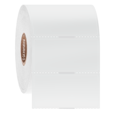 "Transparent Cryo & Autoclave-Resistant Thermal-Transfer Labels - 1.5"" x 0.875""  #GANA-107NOT"