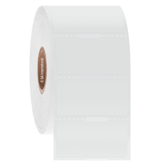 "Transparent Cryo & Autoclave-Resistant Thermal-Transfer Labels - 1.5"" x 0.75"" #GANA-10NOT"