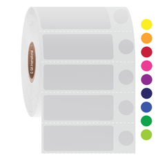 """Deep-Freeze Labels for Thermal Transfer Printers - 1.73"""" x 0.63"""" + 0.374""""  #FJT-514"""
