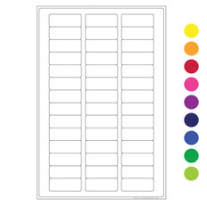 "Cryo Writable Labels - 1.02"" x 0.4"" #JTA-2610 (colors available)"