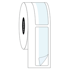"""Print and Shield Permanent Labels for Autoclave and High Temperatures - 0.75"""" x 2.25""""  #SLPA-534NP"""