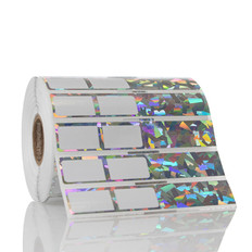 "Sparkle Rat-Tail Jewelry Labels for Thermal-Transfer Printers – 3.75"" x 0.625"" #JSLA-1NOT"
