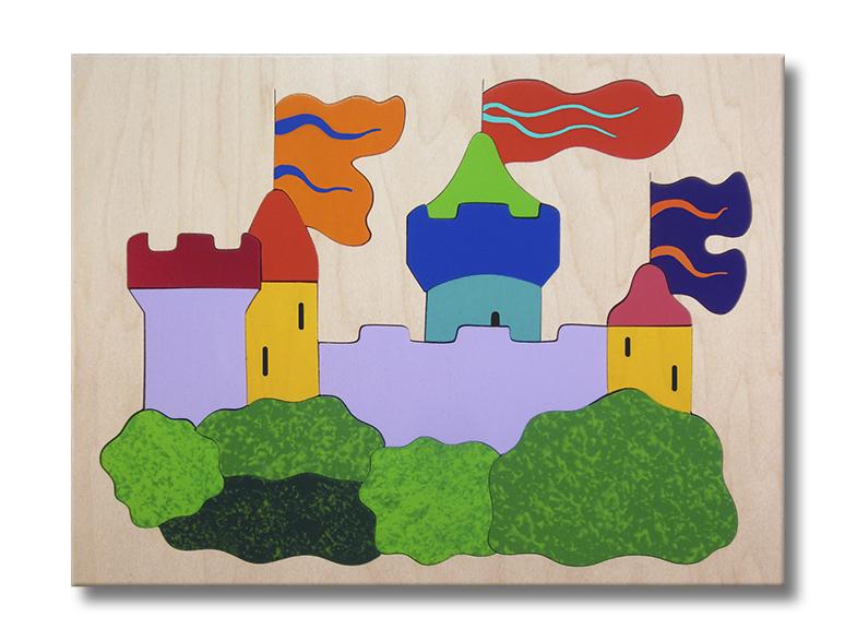 Castle Wooden Puzzle