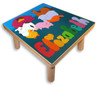 Puzzle Stool with child's name