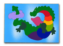 Dragon Wood Puzzle