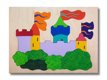 Wooden Castle Puzzle