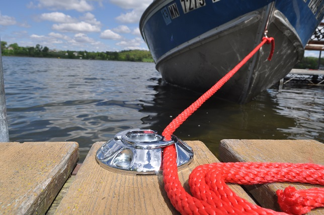 No More Knots With A Quick Cleat Rope Tie Down