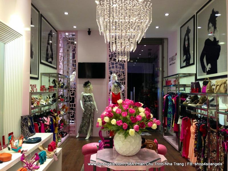 Shop So Angels - 58A Phan Chu Trinh, Nha Trang - chuyên thời trang xách tay nữ, đặc biệt đầm dạ hội dự tiệc.