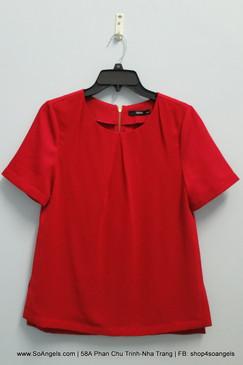 Oasis Áo Kiểu Đỏ Cam